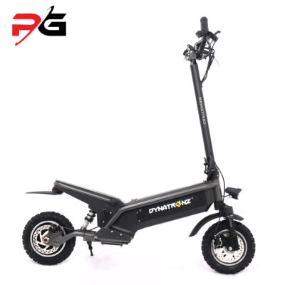 Dynatronz challenger basic electric scooter product shot facing right