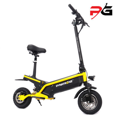 Dynatronz challenger pro electric scooter product shot facing right