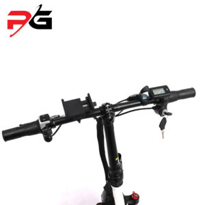 Dynatronz t10 electric bike product shot full handle bar view and accessories