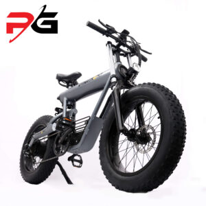 Dynatronz t20 electric bike product shot in front perspective